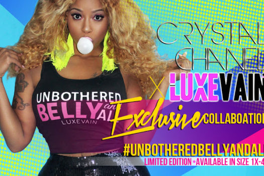 Crystal Chanel x Luxe Vain Boutique Launch
