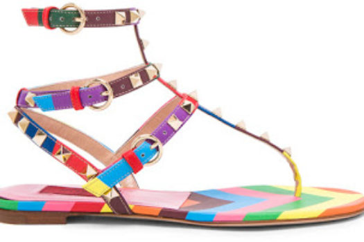 Real or Deal: Valentino 1973 Rockstud Gladiator Sandals