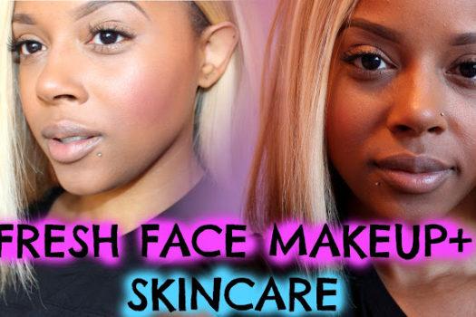 Basic Foundation + Skincare Routine Video