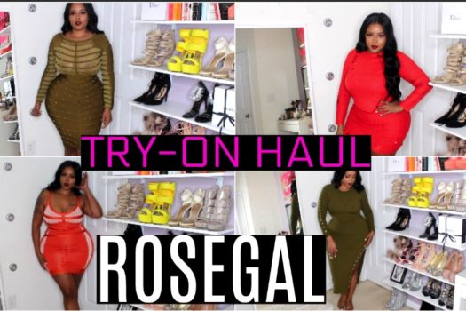 ROSEGAL Try On Haul