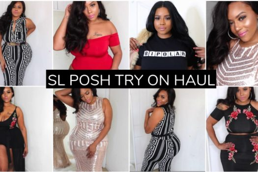 New Year New Looks | SLPOSH TRY ON HAUL