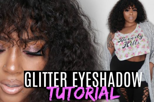 EASY Glitter Eyeshadow Tutorial