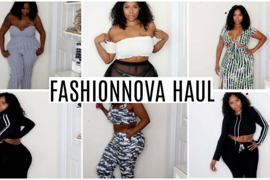 Spring Fashion Nova Curvy/Thick Girl Try-on Haul (Unboxing)