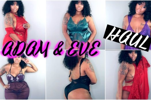 SNATCH YOUR MAN'S EDGES WITH ADAM AND EVE LINGERIE