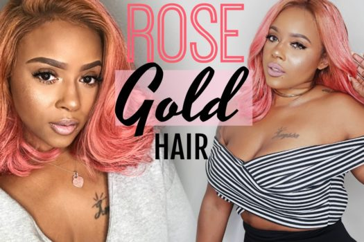 ROSE GOLD PINK HAIR | HOW TO BE A PHENOMENAL WOMAN