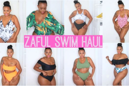 a91bce2e11 Zaful Bikini Try On Haul – Curvy Girl Plus Size Baddie Approved