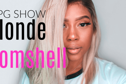 HOW TO LAY YOUR WIG NO GLUE, NO ELASTIC BAND | Blonde Wig