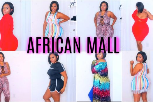AFFORDABLE INSTAGRAM BADDIE AFRICAN MALL TRY ON HAUL