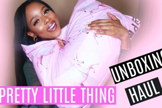 HUGE PRETTY LITTLE THING UNBOXING + TRY ON HAUL
