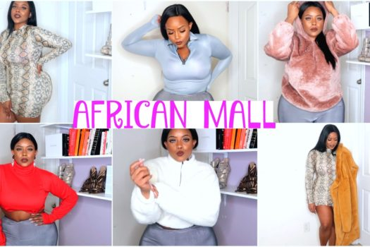 AFRICAN MALL TRY ON HAUL
