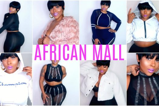 AFRICAN MALL TRY ON HAUL & GIVEAWAY