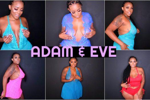ADAM & EVE TRY ON HAUL