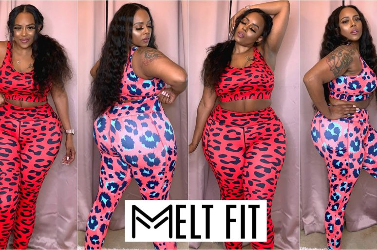 MELT FIT LEGGINGS & SPORTS BRA TRY ON HAUL