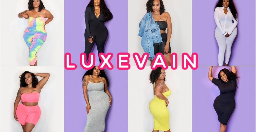 Huge Curvy Girl Plus Size Friendly Try On Haul ft. Luxe Vain